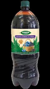 """Газированный напиток """"GREEN ranch"""" черника-ежевика на травах, 2 л, 6 шт"""